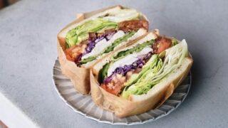 LINDA LINDAのサンドイッチ